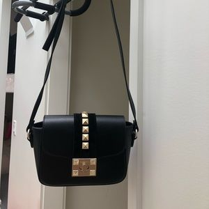 Valentino Yasmine Leather Crossbody Bag